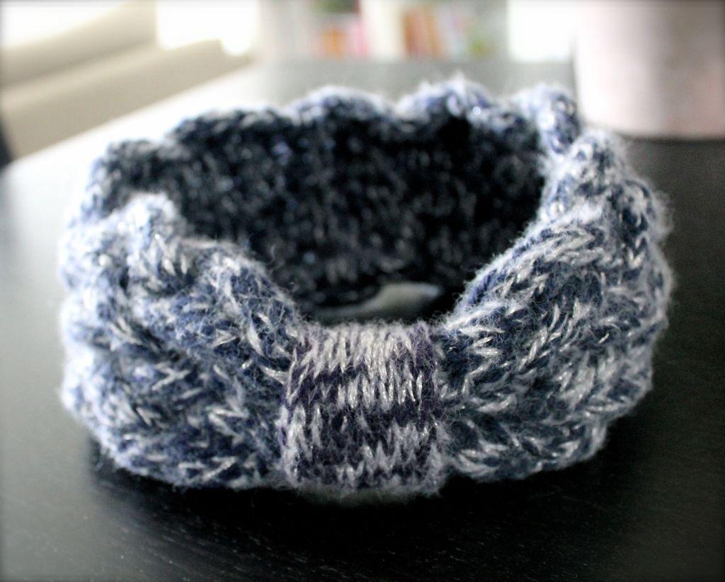 Bandeau tricot - 5