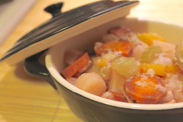 blanquette poulet legumes anciens - 1