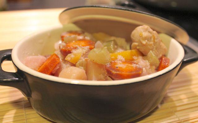 blanquette poulet legumes anciens - 2